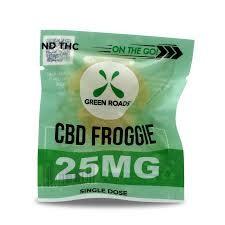 Green Roads - On the Go Froggies 25mg