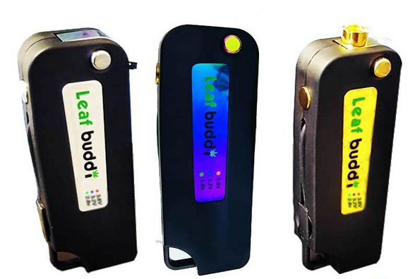 Leaf Buddi Leaf Buddi - Key Box V Pro Variable Voltage 350mAh 510 CE3 Key Fob Box Mod With Built In USB Charger