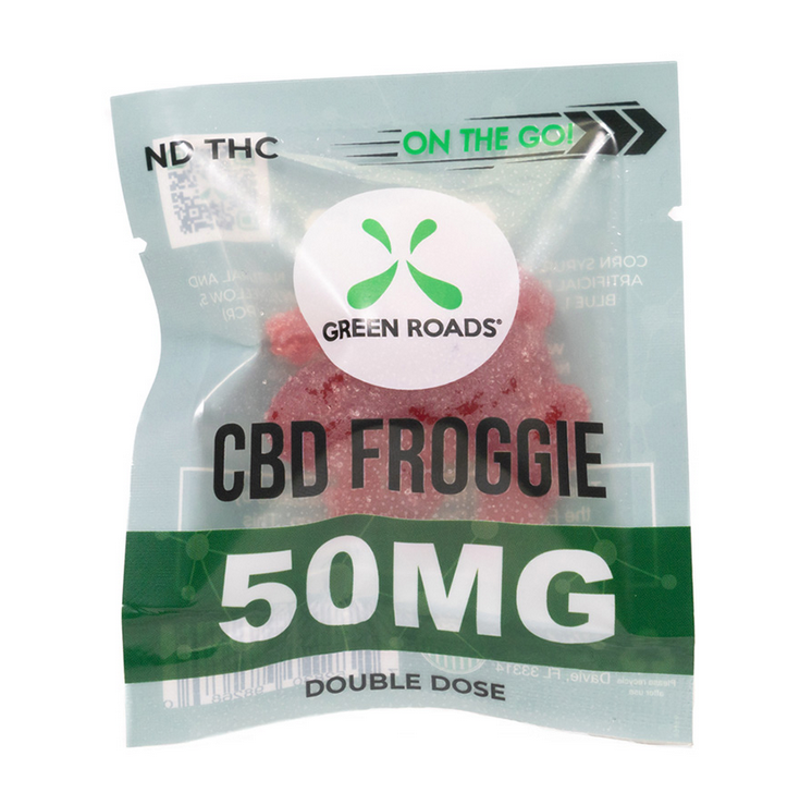 Green Roads - On the Go Froggies 50mg