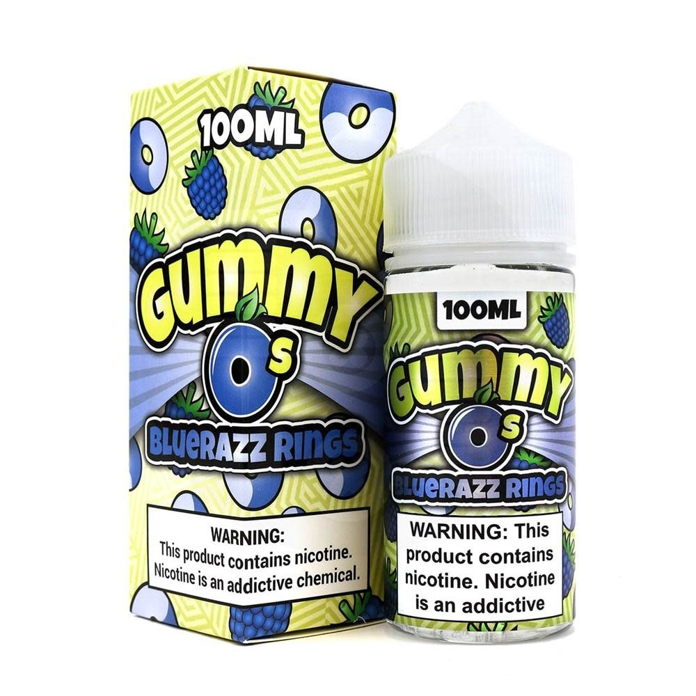Shinjin Vapor Gummy O's - Bluerazz Rings