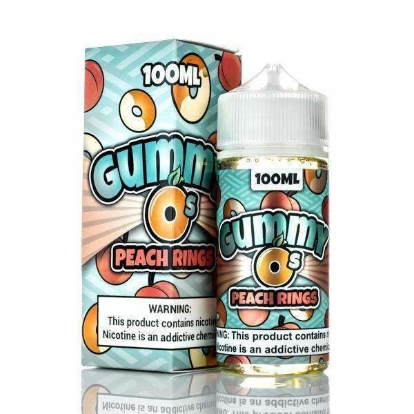 Shinjin Vapor Gummy O's - Peach Rings