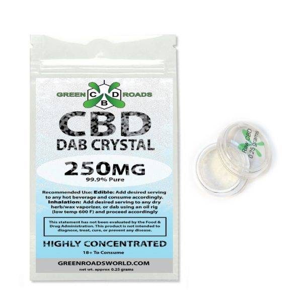 Green Roads - CBD Dab Crystal 250mg