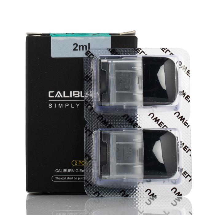 Uwell - Caliburn G Empty Replacement Pod Cartridge - 2PK