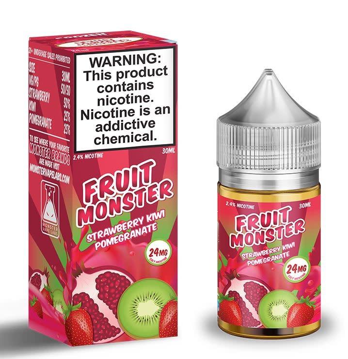 Fruit Monster Salt - Strawberry, Kiwi, Pomegranate