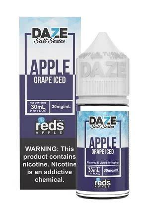 Reds Reds E-Liquid - Apple Grape Iced