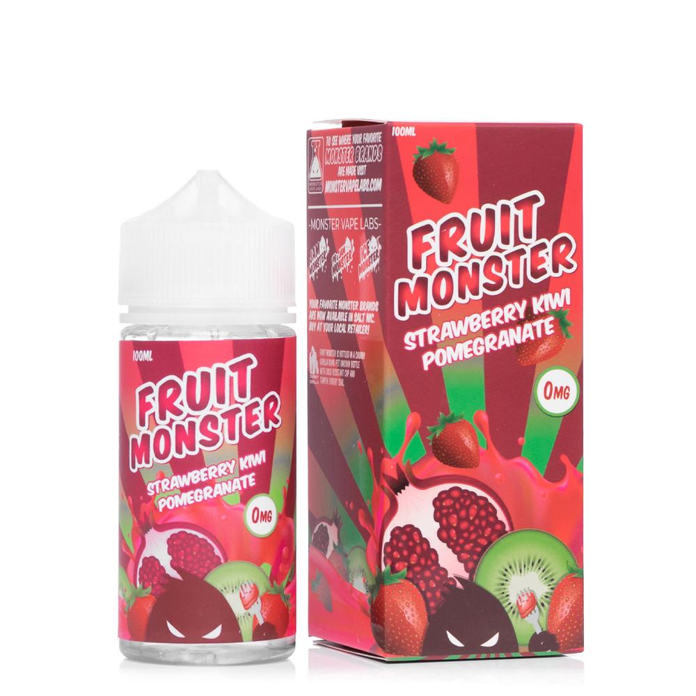 Fruit Monster E-Liquid - Strawberry, Kiwi, Pomegranate