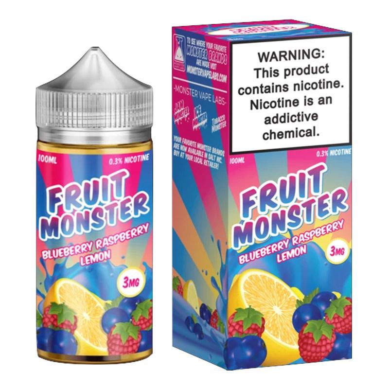 Fruit Monster E-Liquid - Blueberry, Raspberry, Lemon