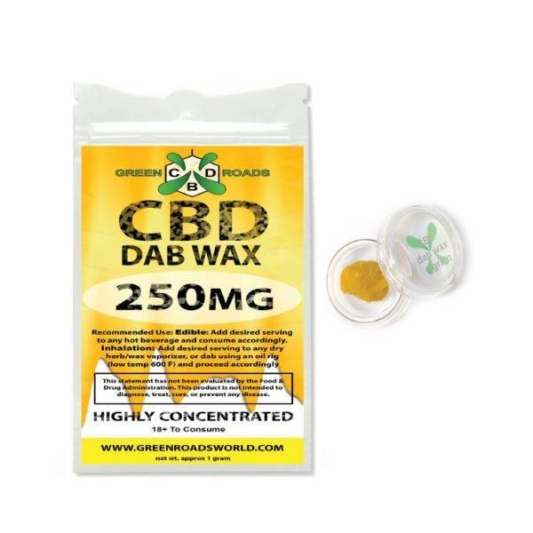 Green Roads - CBD Dab Wax 250mg