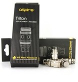 Triton Replacement Coils By Aspire
