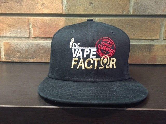 The Vape Factor Snap Back Cap