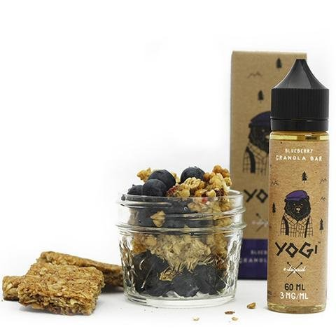 Yogi E-Liquid - Blueberry Granola Bar