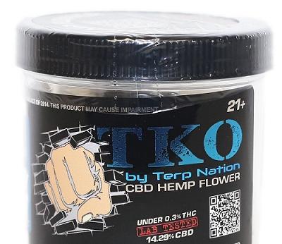 TKO TKO CBD Hemp Flower - 7 Grams