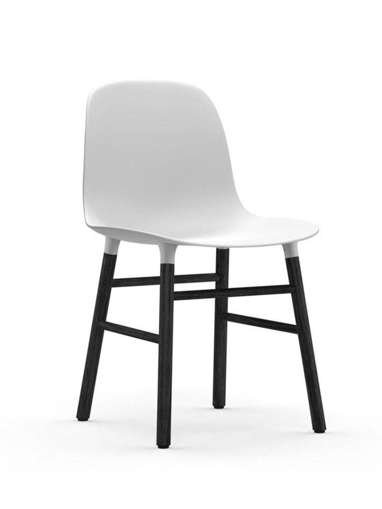 Base Noir Copenhagen En Chêne Chaise Form Laqué Normann hdrQts