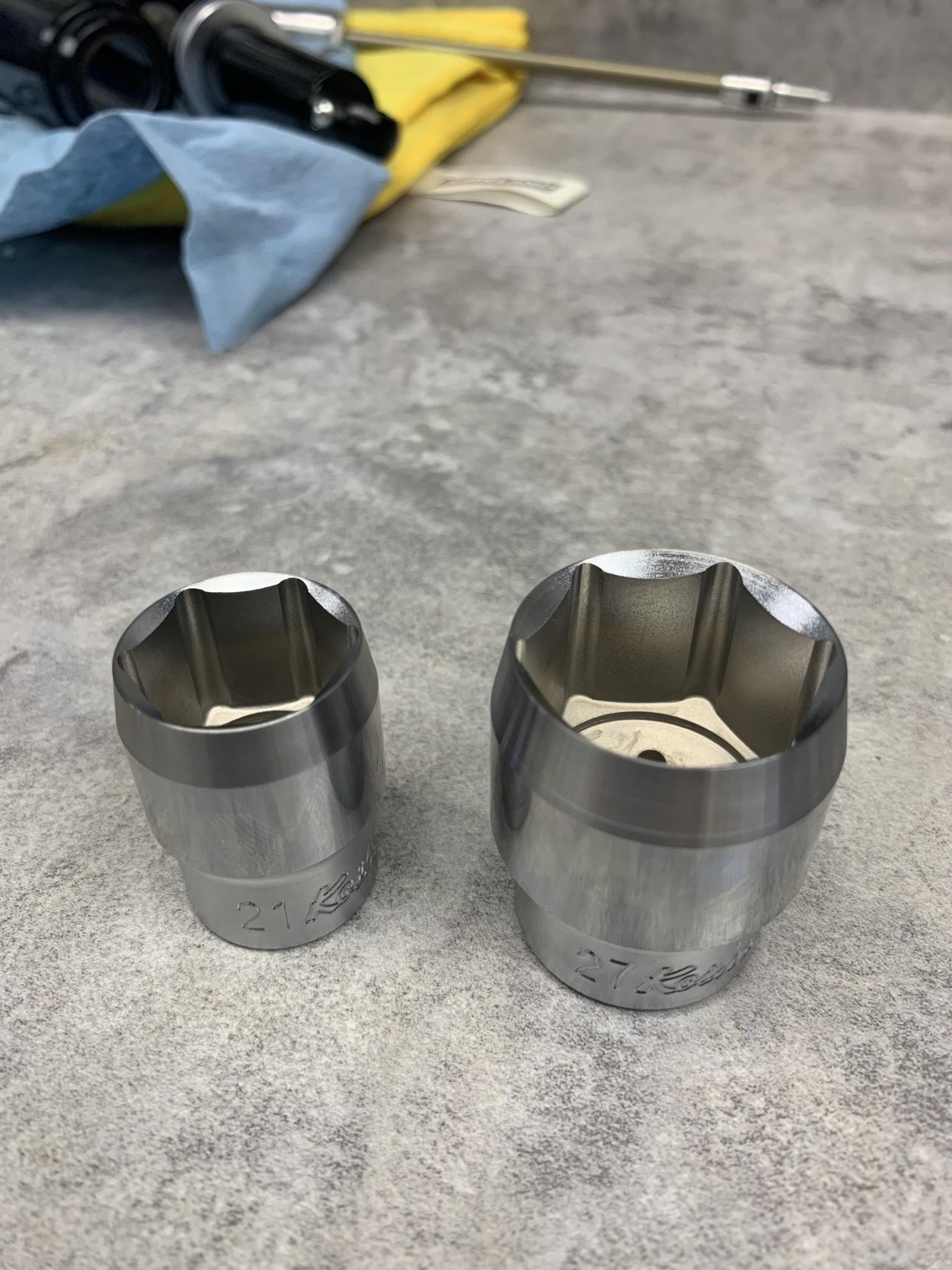 ZFC160-R 27mm shallow socket metal