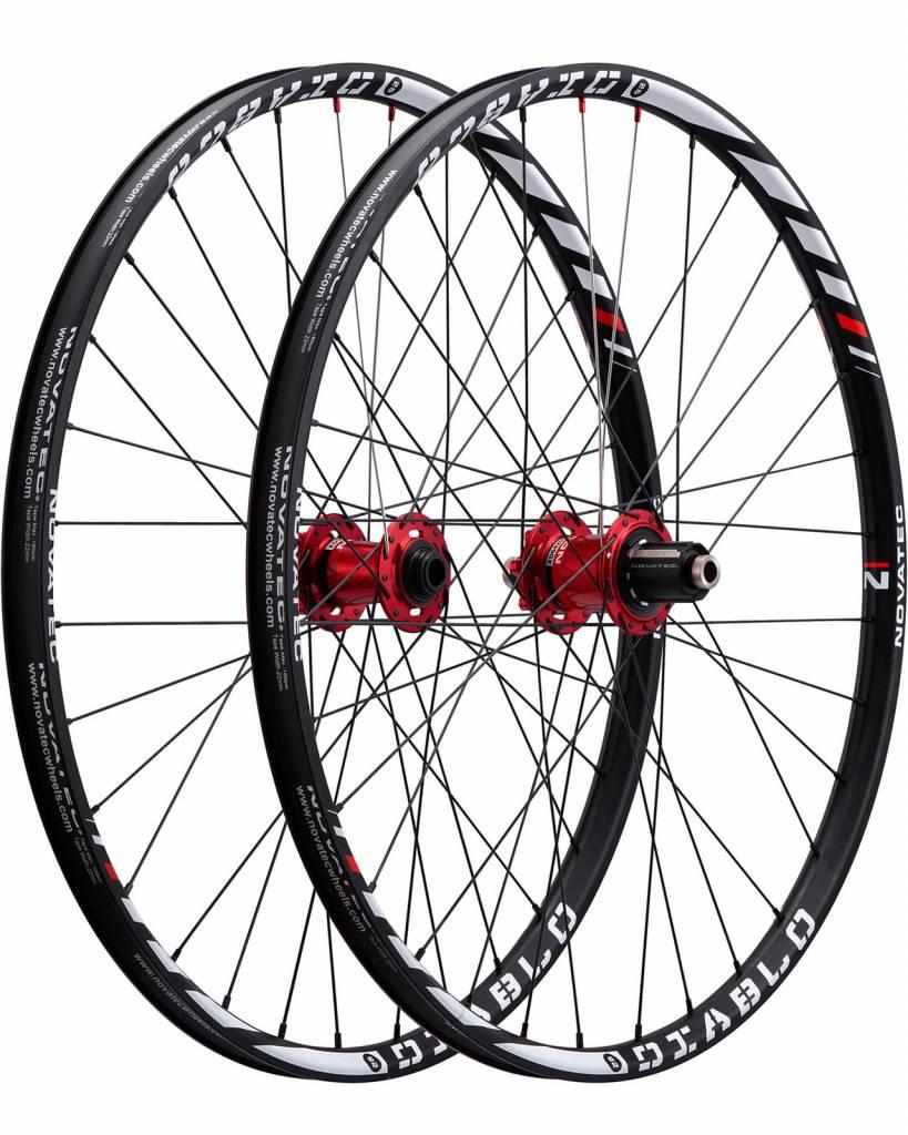Novatec USA Novatec Diablo Wheelset Black