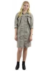 Monet Dress Grey