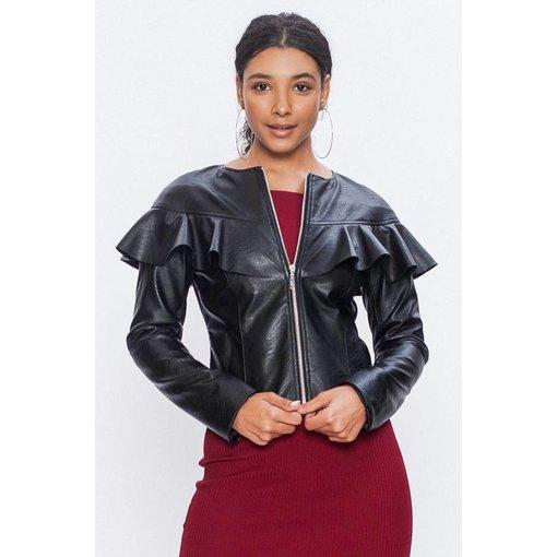 Sally  Leather Jacket