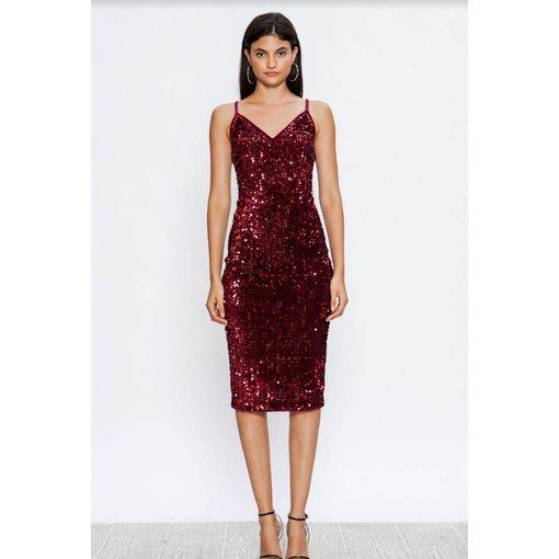 Denebola Dress Red