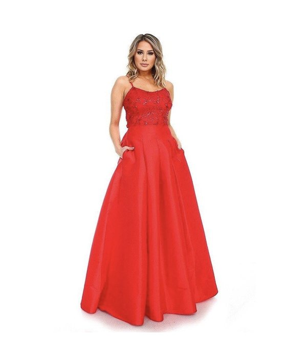 Melia Dress Red