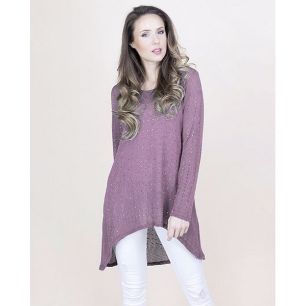 Connie Top Mauve