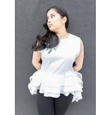 Tamala Blouse White