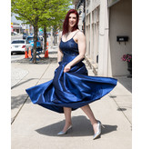 Melia Dress Navy