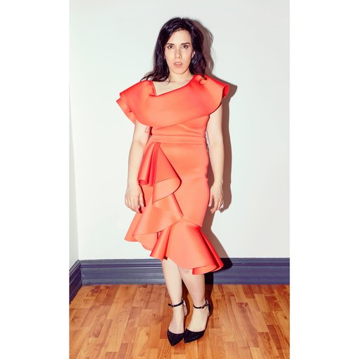 Cherry Coral Dress