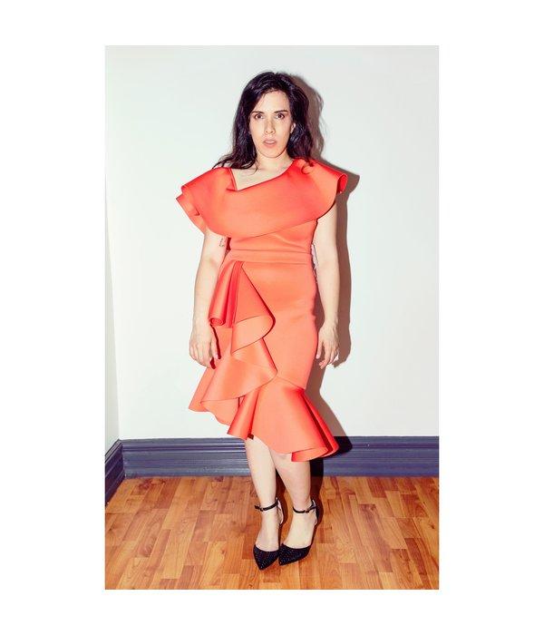 Cherry Coral Dress