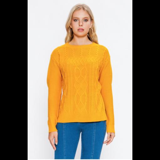 Moya Mustard Sweater
