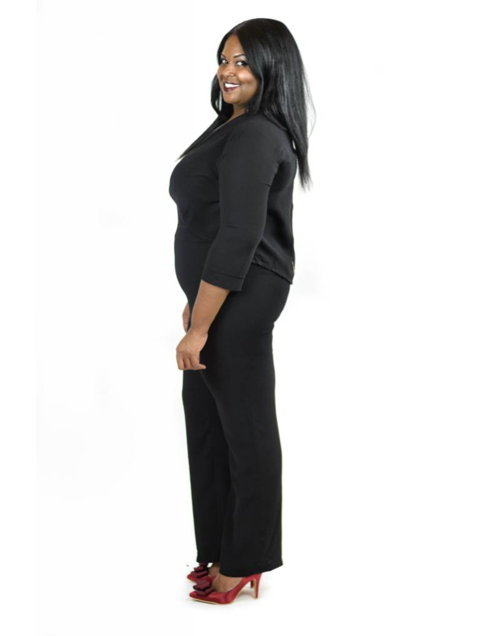 Bexley Jumpsuit Black