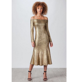 Aziza Gold Dress
