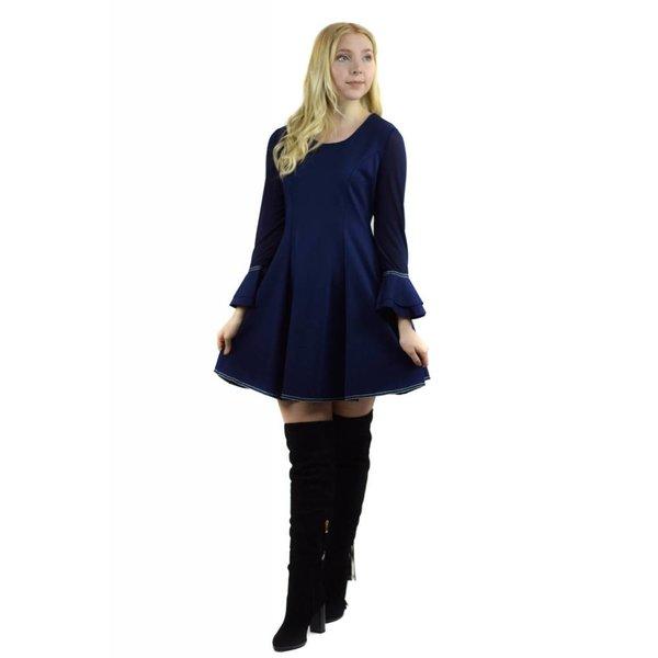 Hazel Dress Navy