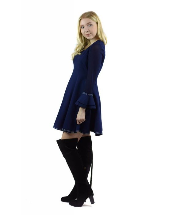 Hazel Dress Navy