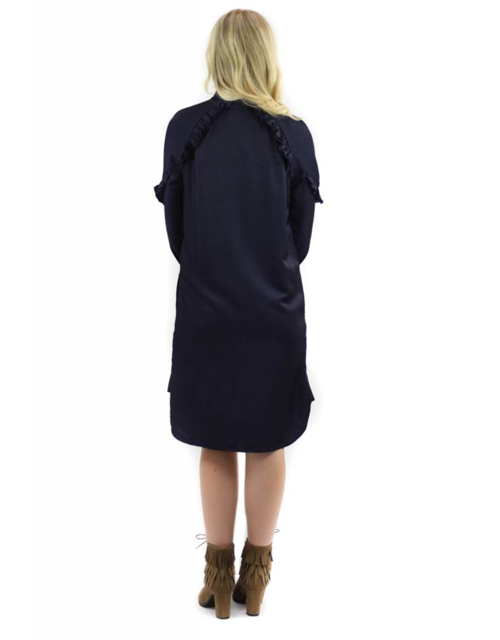 Primrose Dress Navy Blue