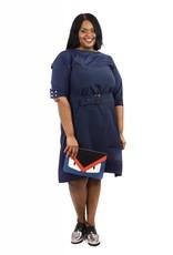 Cleo Dress Navy Blue
