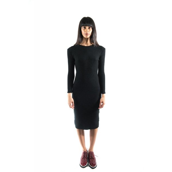 Halsey Dress Black