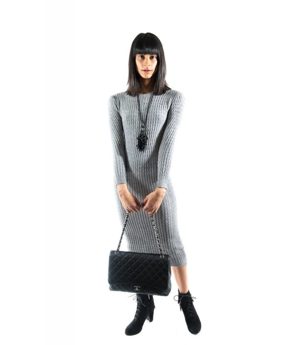 Halsey Dress Grey
