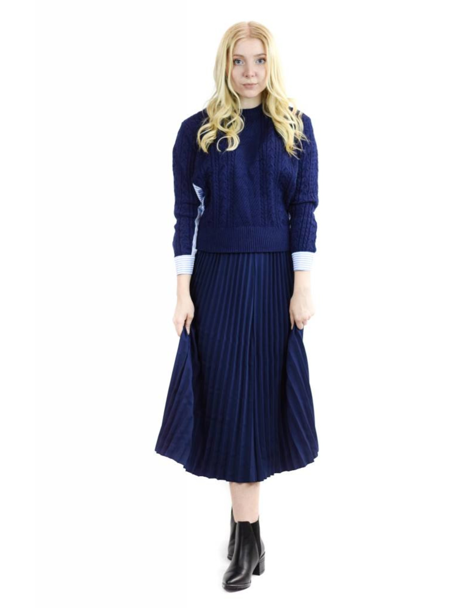 Purity Sweater and Skirt