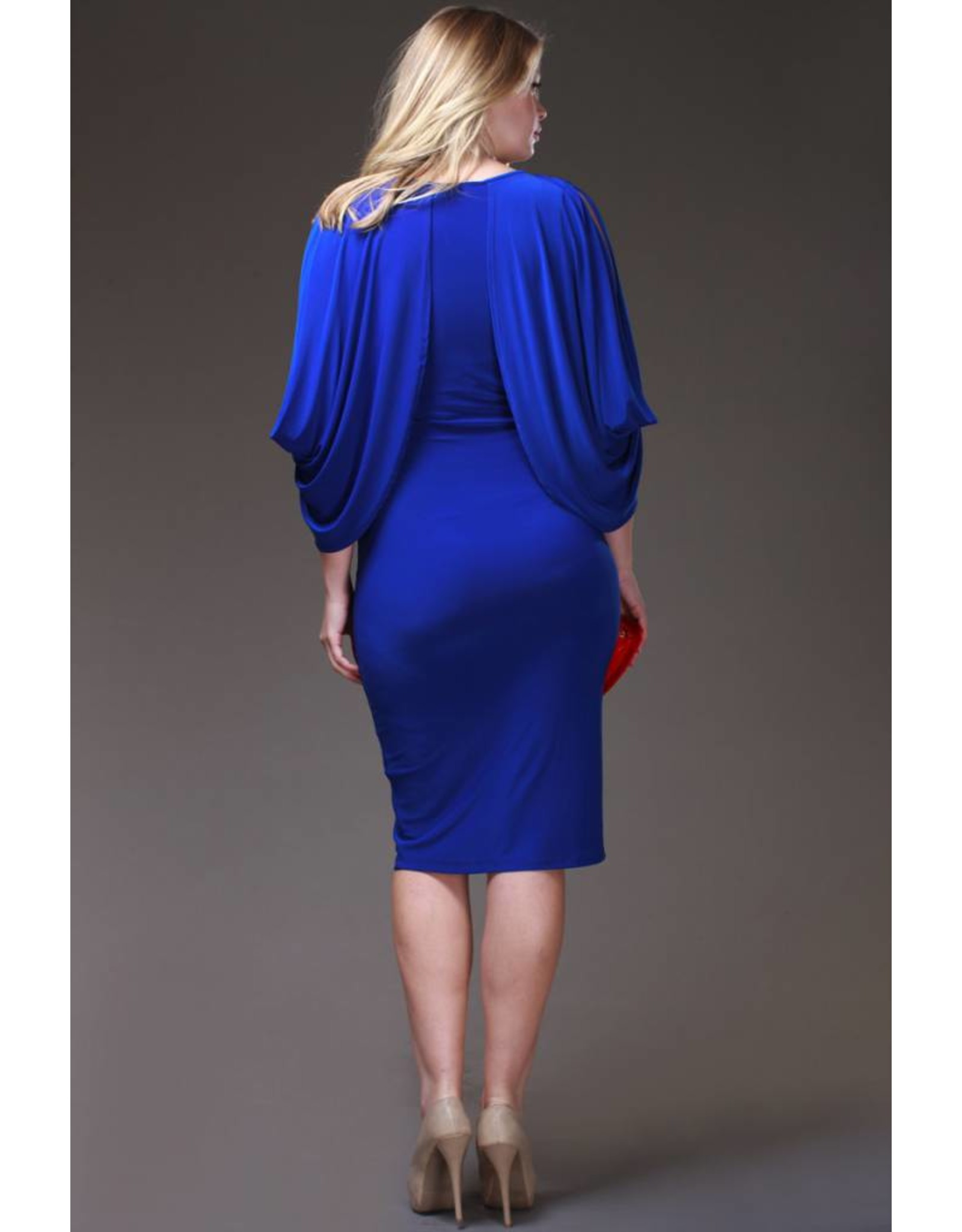 Willa Dress - Royal Blue