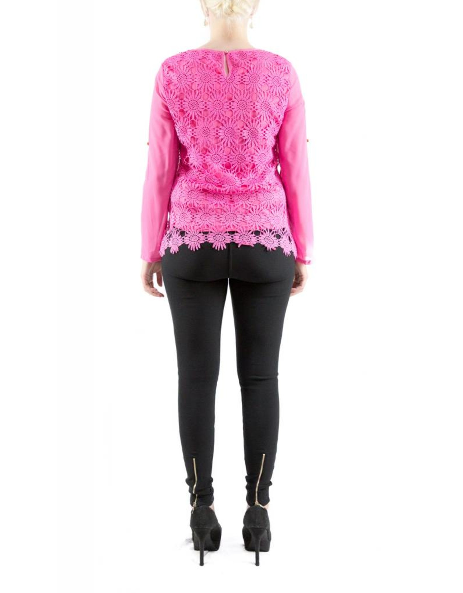 Vanessa Blouse Pink