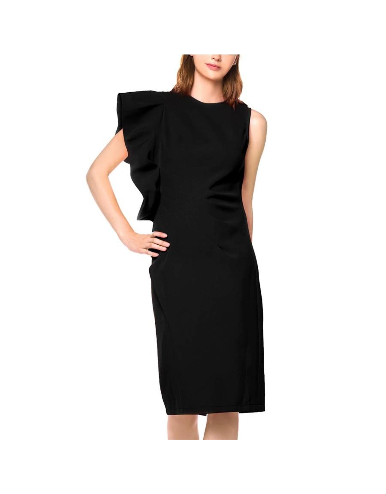 Ivana Dress Black