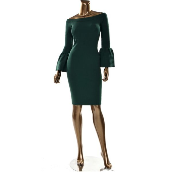 Alexa Green Dress