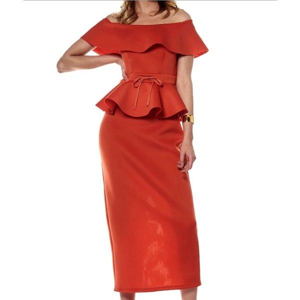 Weylyn Dress Orange
