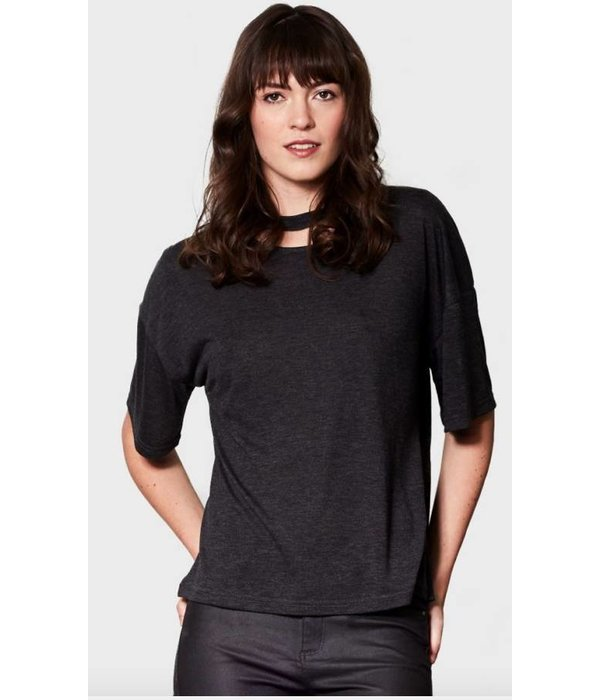 Caitlin Charcoal T-Shirt