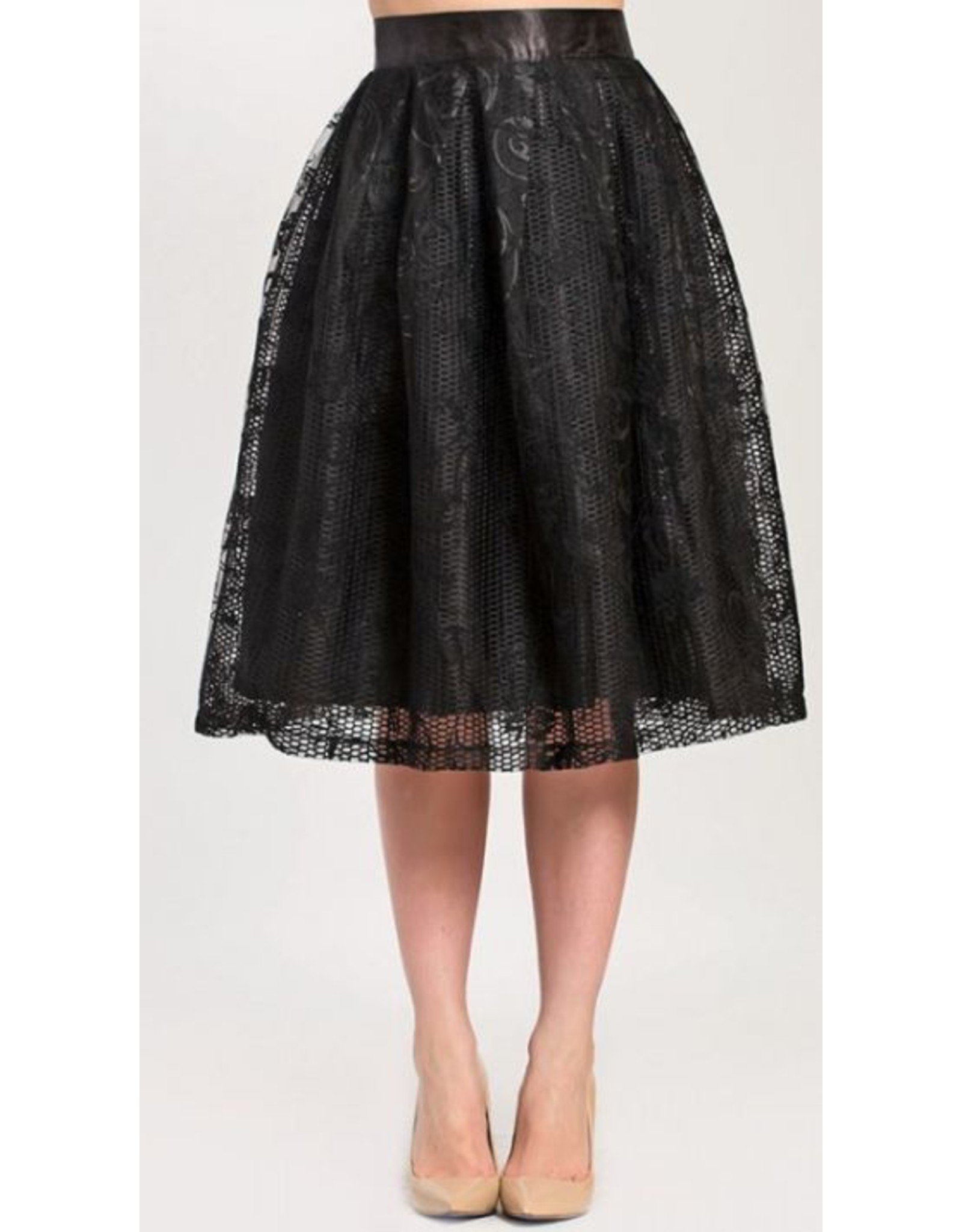 Megan Skirt Black
