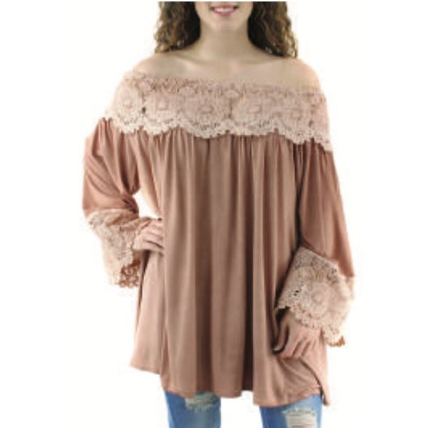 Salome Tunic Dusty Rose
