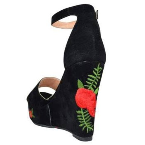 Betty Floral Wedge