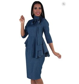 Courtney Dress Denim