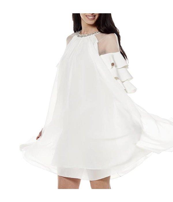 Mariah Dress White