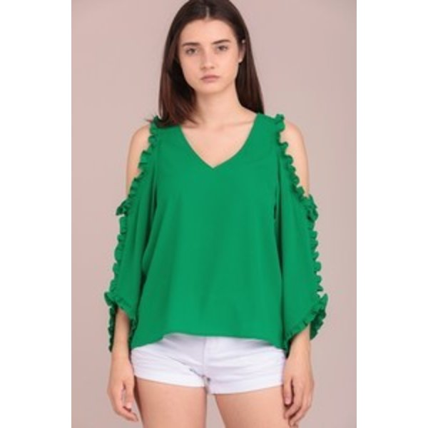 Koleen Green Blouse